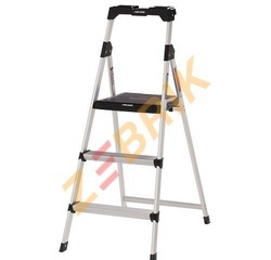 360 Degree All Aluminum Flat Step Folding Ladder