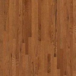 Brown Polished Laminated Wooden Flooring