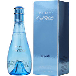 Davidoff Cool Water Eau De Toilette Spray for Women, 100ml