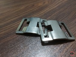 10mm Mild Steel Square Buckles Nickel