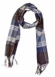 Men Lining Woolen Scarves