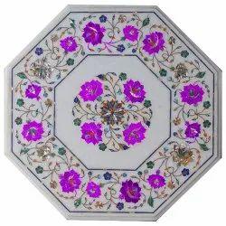 Italian Stone Coffee Table Top, Beautiful Marble Table Tops