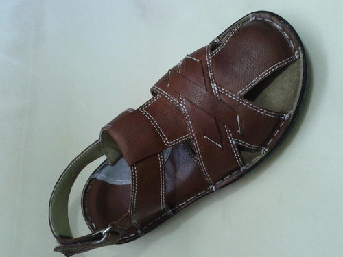 7827d4986177a NSS Men Trendy Leather Sandal, Rs 450 /pair, Shama Safety Shoes ...