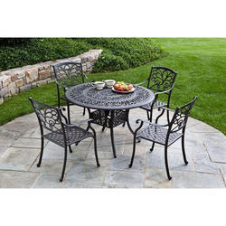 Cast Iron Garden Dining Set
