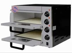 Stone Base Pizza Oven Double Deck