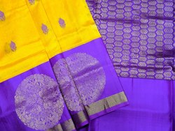 Fancy Kuppadam Silk Cotton Saree