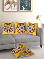 Cotton Printed Duck Cushion Cover