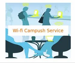 40 Mbps And Higher Wired Wi-Fi Campush Service, Depends On Size Space, Organization/Office