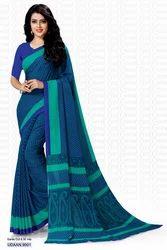Chiffon Formal Wear Printed Saree, Length: 6.3 m