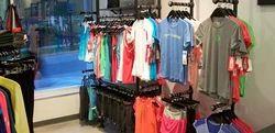 MS Garment Display Rack