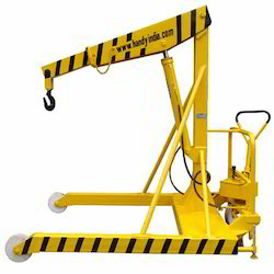 Mobile Floor Jib Crane