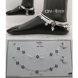Silver Plated Payal