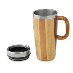 Decorative Wooden Mug