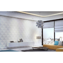 White 3D Wall Panel
