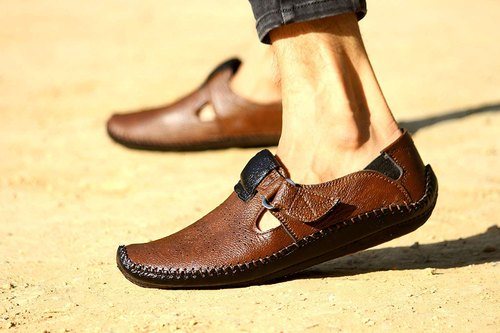 PVC Casual Big Fox Roman Sandals for