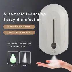 Automatic hand sanitizer dispenser spray