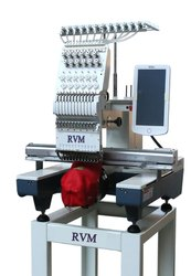 Single Head Computer Embroidery Machine for Cap, Finished Garments, Shoes and Bag