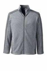 Cotton Hooded Mens Fleece Jacket