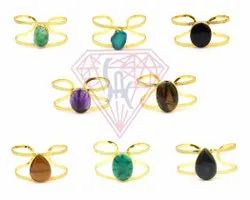 Multi Gemstone Bangle