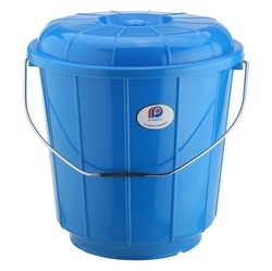 Plastic Bucket With Steel Handle 5 Ltr