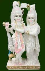Radha Krishna Marble Jugal Murti