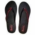 Ladies Designer V Strap Slipper, Size: 4-7