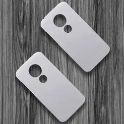 Polycarbonate White Moto E5 Play 3D Sublimation Mobile Back Blank Cover