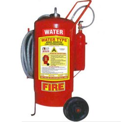Stop Fire 45L Water Based Trolley Mounted Fire Extinguisher
