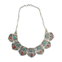 Metal Necklace, Size: Standard