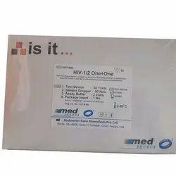 Medsource Hiv Rapid Test Card, Packaging Size: 50 Tests