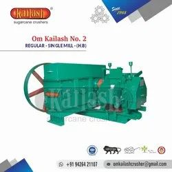 Sugar Cane Crusher For Jaggery Om Kailash No.2 Single Mill