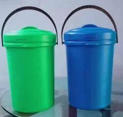 15 Liter House Hold Plastic Dustbin