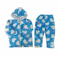 Kids Dress Baby Sky Blue Suit, Age: Up To 2 Years