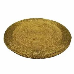 GOLDEN ROUND BEEDS PLACEMAT