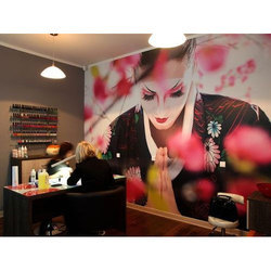 Beauty Parlour Wallpaper