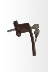 Nbh036 UPVC Sliding Window Handle with Key