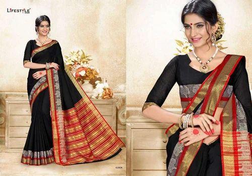 373a305fb0 Life Style Khadi Silk Saree, Rs 555 /piece, Fab Leela | ID: 15666324248
