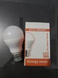 Local Plastic 9 Watt Dob Bulb