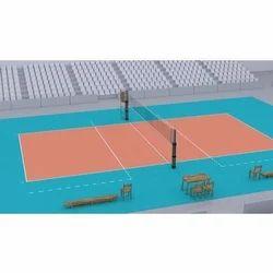 PU Volleyball Court Flooring Service