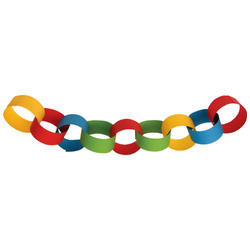 Image result for paper chain
