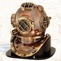 Cooper And Brass Diving Helmet