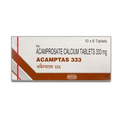 333 mg Acamprosate Calcium Tablets