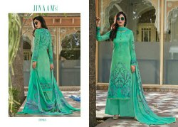 Semi Stitched Jinaam Cotton Suit
