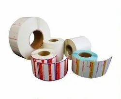 Pre Printed Paper And Polyester Label Rolls, For Multiple Application, GSM: Up To 80