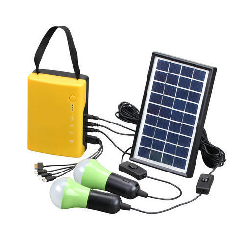 Portable Solar Power Home Lighting System
