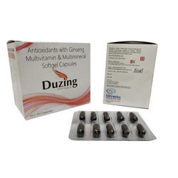 Antioxidants With Ginseng Multivitamin And Multimineral Softgel Capsule