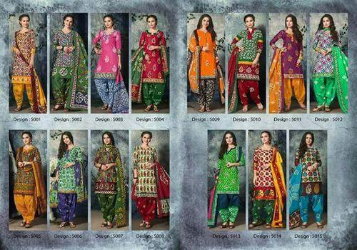 ddac6f7308 Diffrent Colours Mayur Batik Special Vol-5 Ladies Cotton Suit, Rs ...