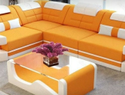 L Shaped Sofa Set With Center Table