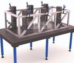 Mild Steel Welding Jig & Fixture, For Industrial