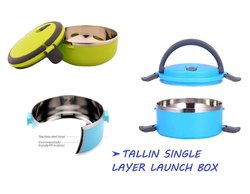 Single Layer Lunch Box Handheld Tiffin Leak Proof Insulated Thermal Food